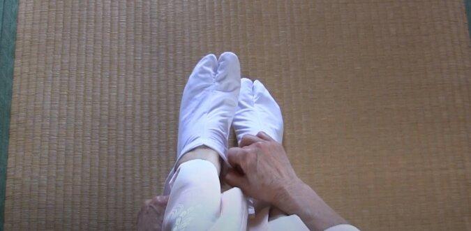Socken. Quelle: Screenshot YouTube