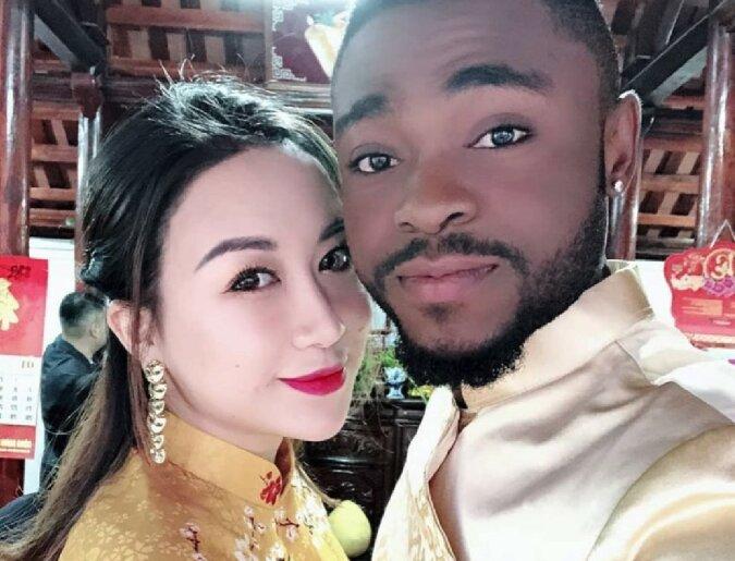 Schöne Gene: Mama aus Vietnam und Papa aus Afrika haben eine schöne Tochter