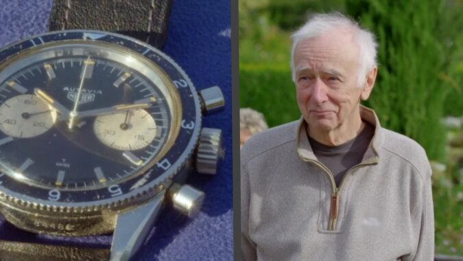 Der Mann und die Uhr. Quelle: wi-fi.com