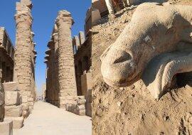 Karnak-Tempel. Quelle:dailymail.co.uk