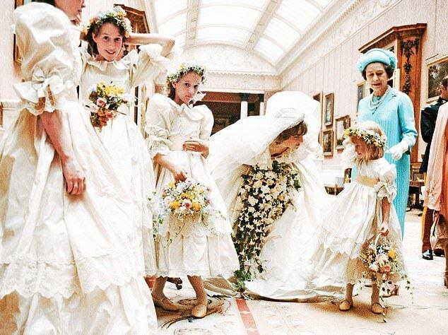 Bei der Hochzeit von Prinzessin Diana und Prinzen Charles legte ein Mädchen einen Eid ab, nicht zu heiraten, aber fünf Kinder änderten seine Meinung
