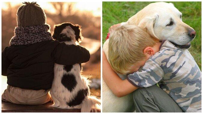 Junge und Hund. Quelle:Screenshot