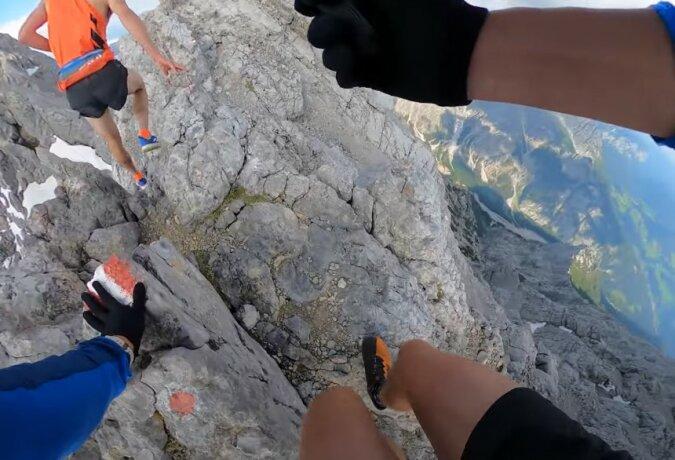 Für echte Extremliebhaber: Der Filmemacher begleitet den Bergsteiger auf seiner Reise durch die Watzmannüberschreitung