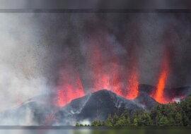 Der Vulkan Cumbre Vieja. Quelle: focus.com