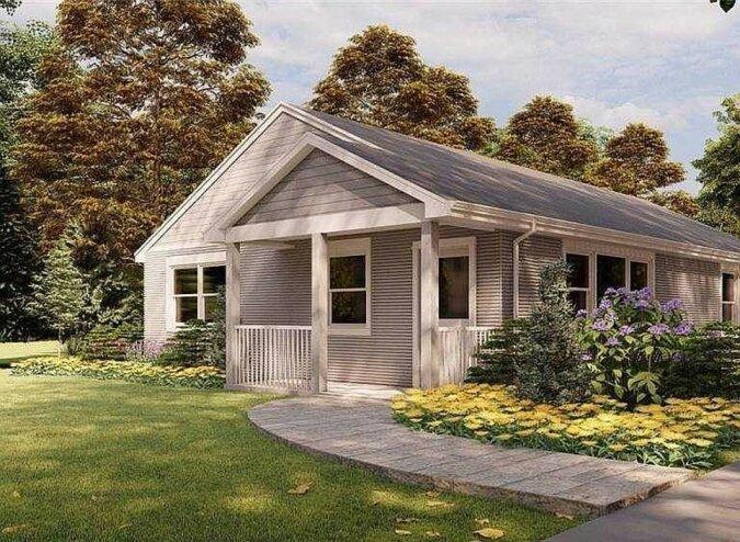 """""""Gedrucktes Haus"""": Wie ein Haus aussieht, das mit Hilfe von einem 3D-Drucker geschaffen wurde"""