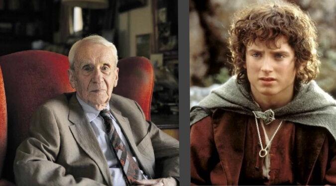 Tolkien und Frodo Quelle: tolkien.fandom
