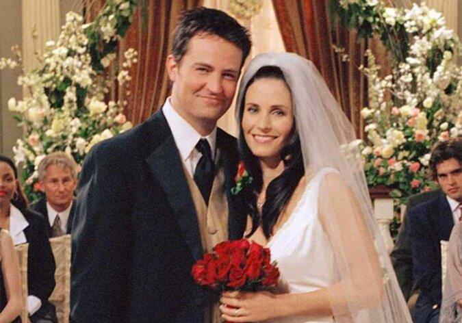 """""""Chandler heiratet endlich"""": Star der Serie """"Friends"""" Matthew Perry verlobte sich mit der langjährigen Freundin Molly Hurwitz"""