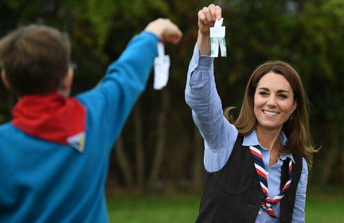 Näher an der Natur: Kate Middleton machte eine Wanderung mit Pfadfindern