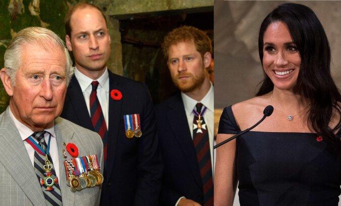 Britische Königsfamilie. Quelle:dailymail.co.uk