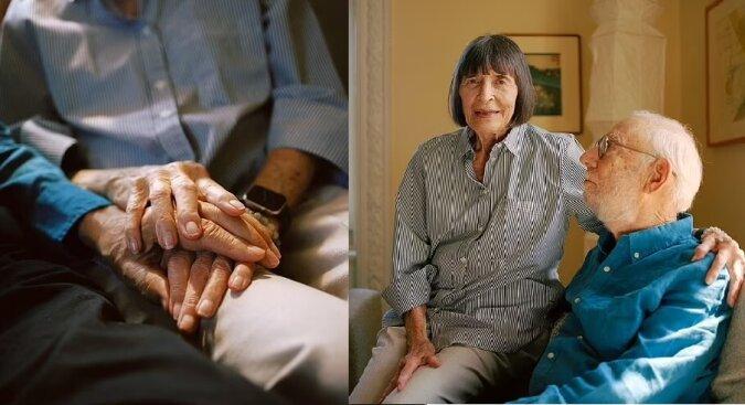 Phyllis Raphael und Stan Leff. Quelle:dailymail.co.uk