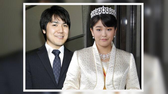 Prinzessin Mako mit ihrem Geliebten Kei Komuro. Quelle: marieclaire
