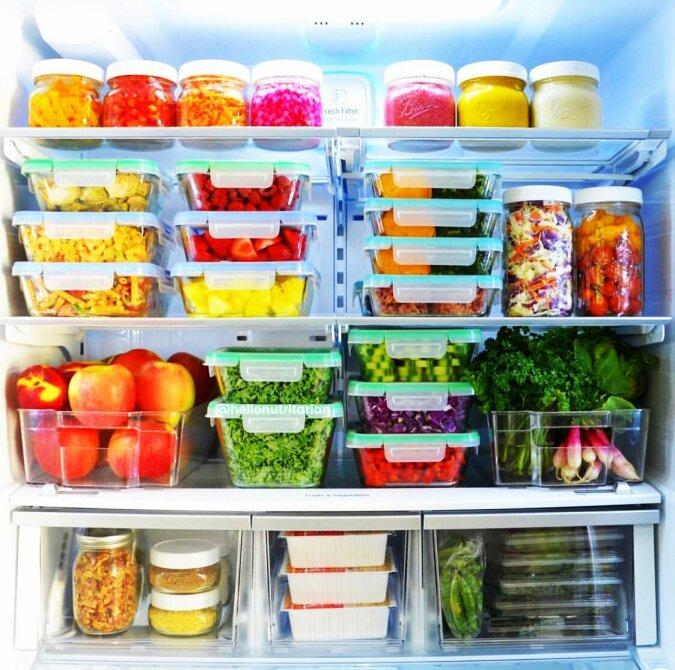 Richtige Organisation des Kühlschranks: Die Expertin gab Ratschläge, die helfen, Geld zu sparen