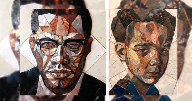 Mosaikporträts. Quelle: boredpanda.com