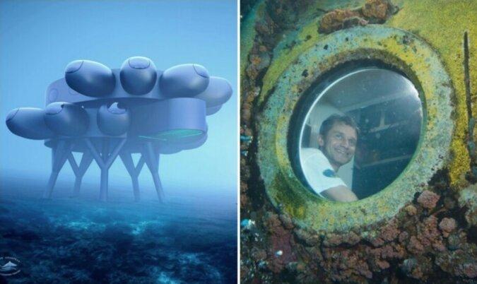 """""""Die Zukunft steht vor der Tür"""": Der Enkel des legendären Jacques-Yves Cousteau baut eine  Unterwasserforschungsstation am Meeresboden auf"""