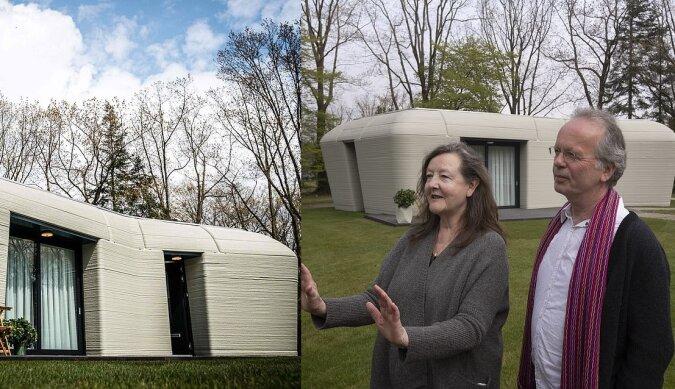 Erstes 3D-gedrucktes Haus. Quelle:dailymail.co.uk