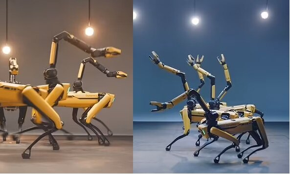 Spot-Roboter. Quelle:dailymail.co.uk