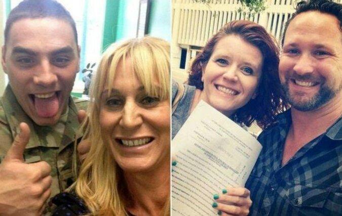 Bester Tag im Leben: Glückliche Paare am Scheidungstag
