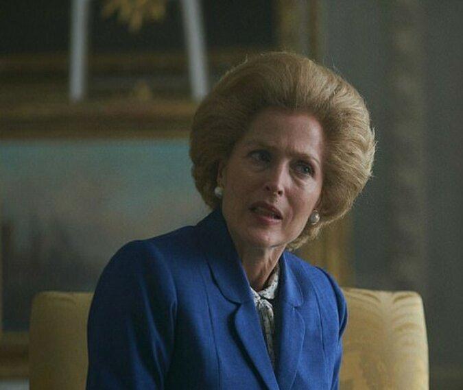 Die Schauspielerin Gillian Anderson teilte die Einzelheiten der Dreharbeiten der Serie über die britische Königsfamilie