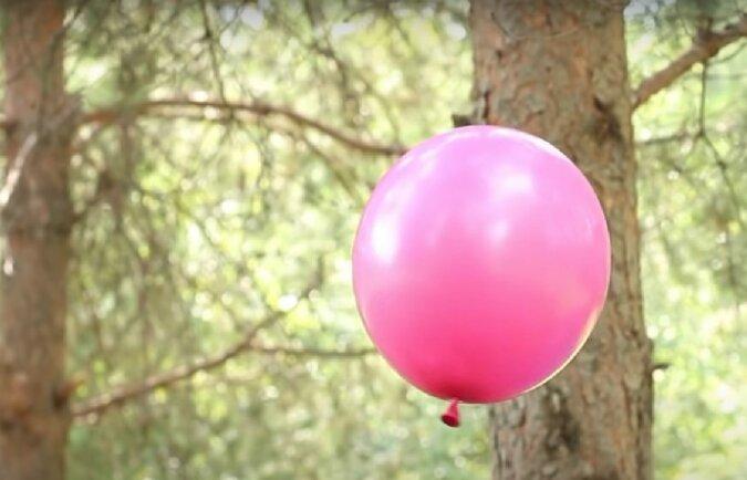Luftballon. Quelle: Screenshot YouTube