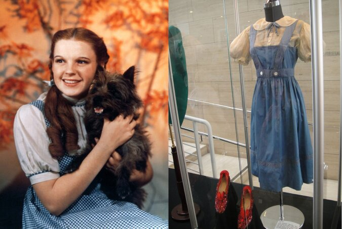 Judy Garland als Dorothy Gale. Quelle:dailymail.co.uk