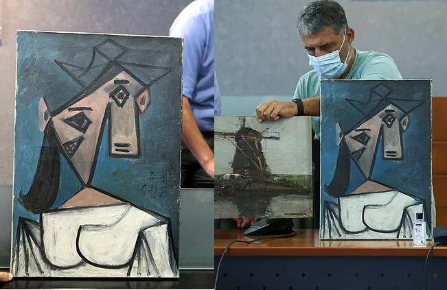 Ein Picasso-Gemälde. Quelle:dailymail.co.uk