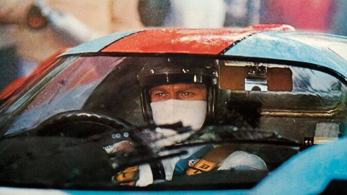 Der berühmte Sportwagen, den Filmlegende Steve McQueen fuhr. Quelle: dailymail
