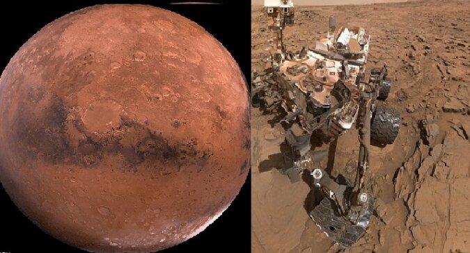 Mars. Quelle:dailymail.co.uk