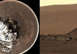 Fotos vom Mars. Quelle: dailymail.co.uk