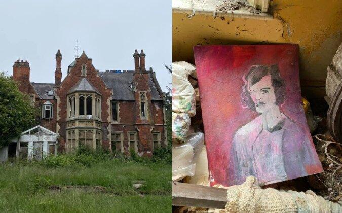 Das verlassene Herrenhaus. Quelle:dailymail.co.uk