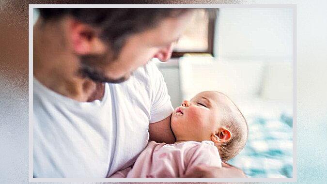 Ein Mann mit dem Kind. Quelle: fabiosa.com
