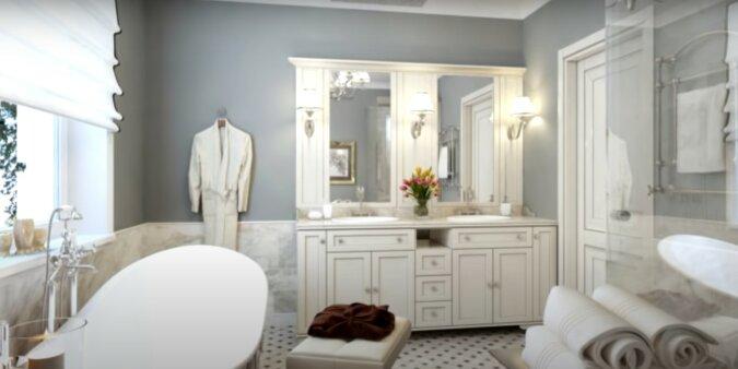Badezimmer. Quelle: Screenshot YouTube