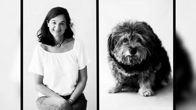 Eine Frau und ein Hund. Quelle: designyoutrust