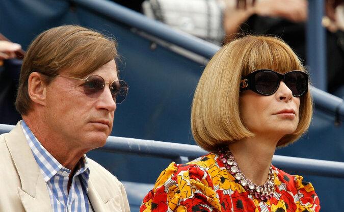 """""""Die Geschichte wiederholt sich"""": man nannte die Gründe der Scheidung von Anna Wintour, Chefredakteurin der amerikanischen Vogue"""