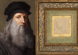 Leonardo da Vinci. Quelle: dailymail.co.uk