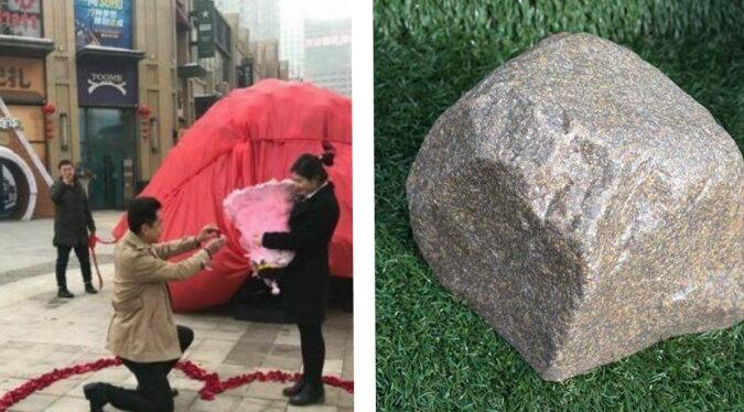 Ein Heiratsantrag mit dem Stein. Quelle: travelask