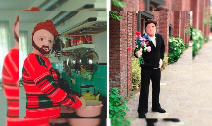 Gestrickte Männer. Quelle: boredpanda.com