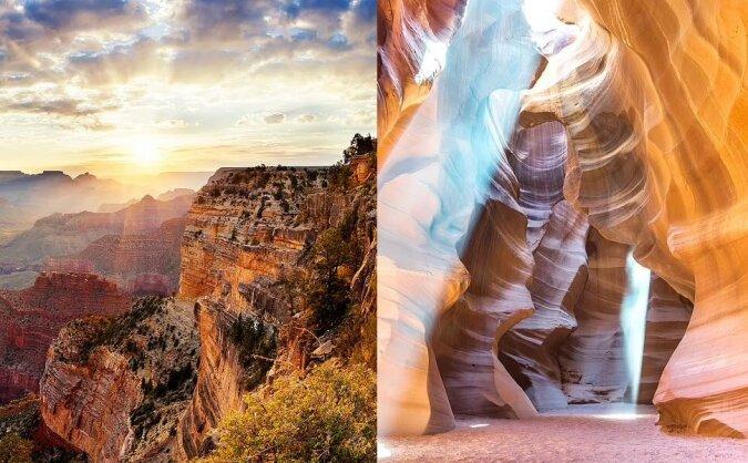 Die schönsten Canyons. Quelle:dailymail.co.uk