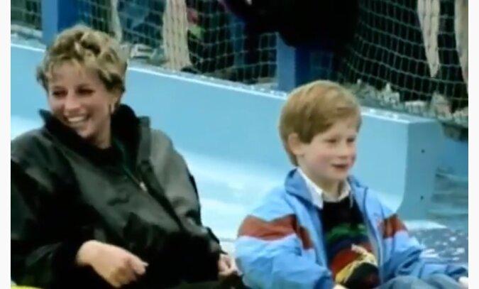 Diana und Harry. Quelle: Screenshot YouTube