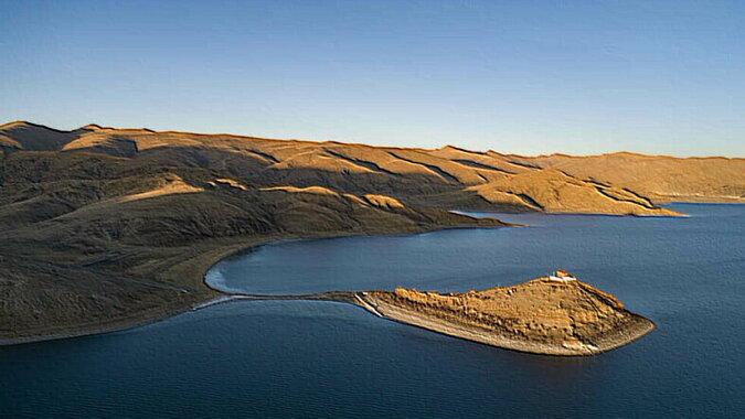 Der Yamzhog Yumco See. Quelle: travelask