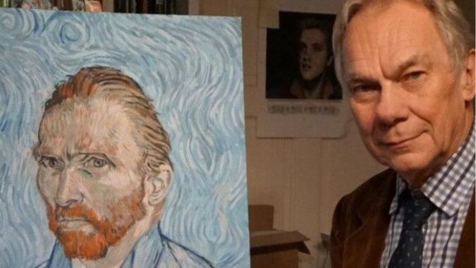 Der englische Malerlehrer John Myatt. Quelle: prikolno.com