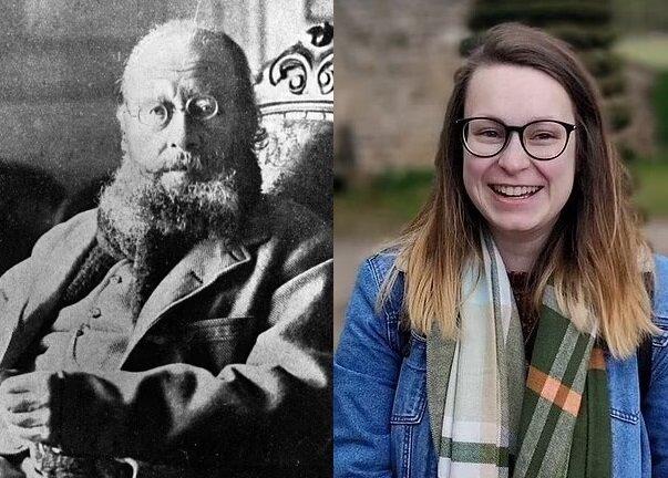 Edward Lear und Amy Wilcockson. Quelle:dailymail.co.uk