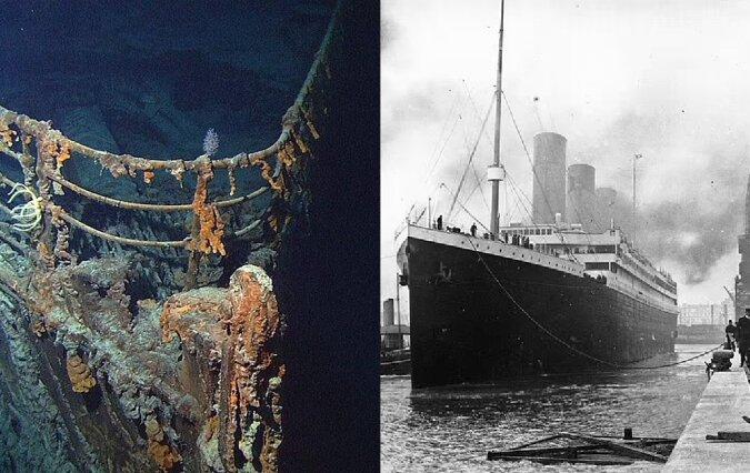 Titanic. Quelle:dailymail.co.uk