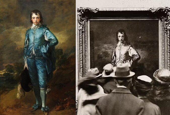 Junger in blauer Jacke und Pantalons. Quelle:dailymail.co.uk