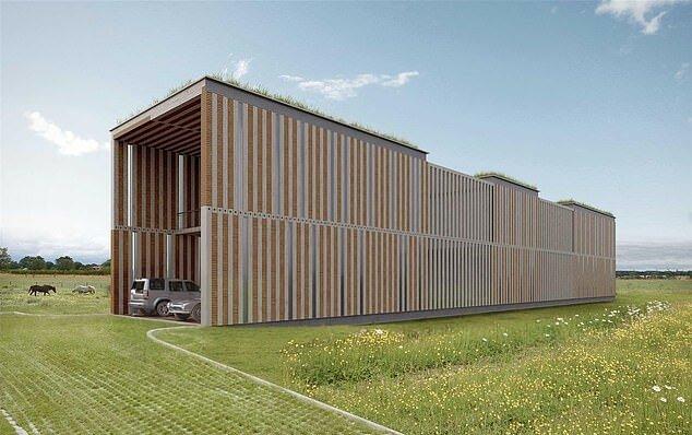 """""""Coolstes Haus"""": Warum ein Haus, das einem minimalistischen Container ähnelt, zu einem der begehrtesten auf dem Immobilienmarkt geworden ist"""