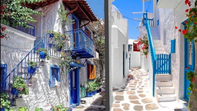 Häuser in Griechenland. Quelle: pinterest