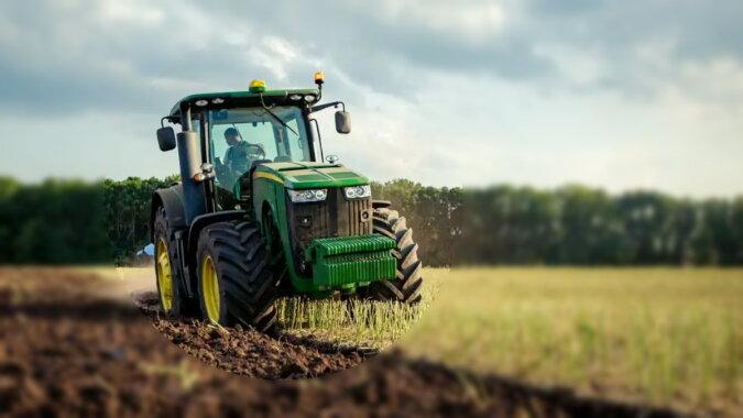 Ein Traktor. Quelle: nachedeu