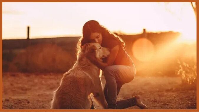 Eine Frau mit dem Hund. Quell: goodhouse