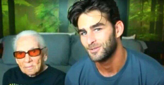 Junger Mann und ältere Frau. Quelle: Screenshot YouTube