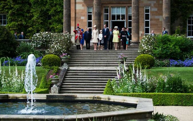 Exquisites irisches Haus der Königin: In Hillsborough Castle