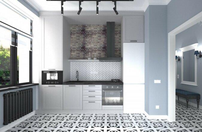 Weiße Küche. Quelle: pinterest